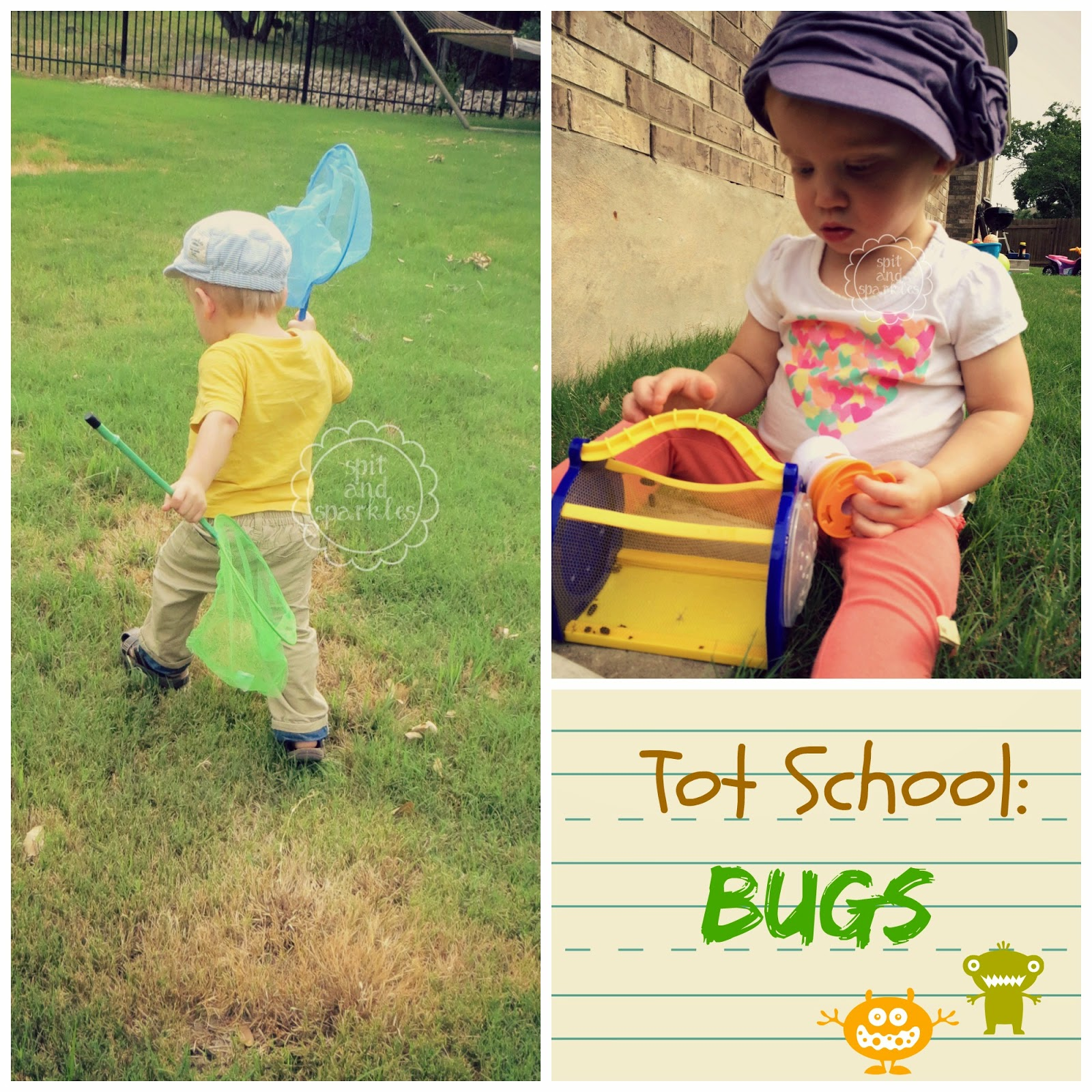 Tot School Bugs Amp Outdoor Learning
