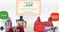 Logo Regali di Olio Cuore: premio sicuro 1 buono da 30€ per prodotti per la casa e la bellezza + buoni sconto