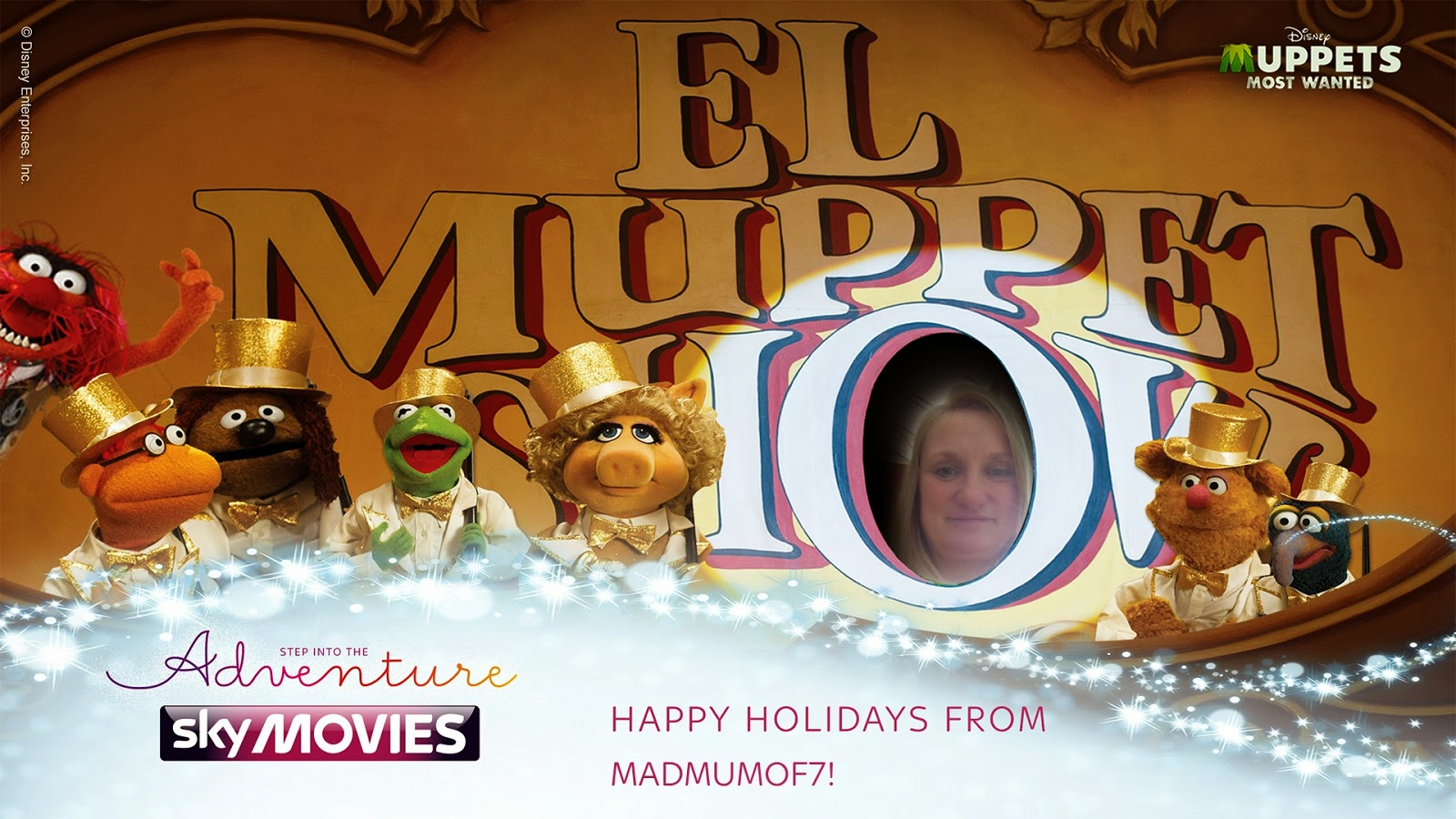 madmumof7 in The Muppet Movie scene from @SkyMovies #MovieMe