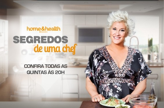 programa segredos de uma CHEF - Discovery Home and Health