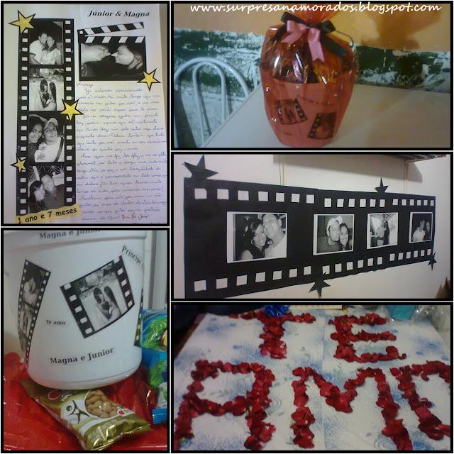 kit cinema para namorado