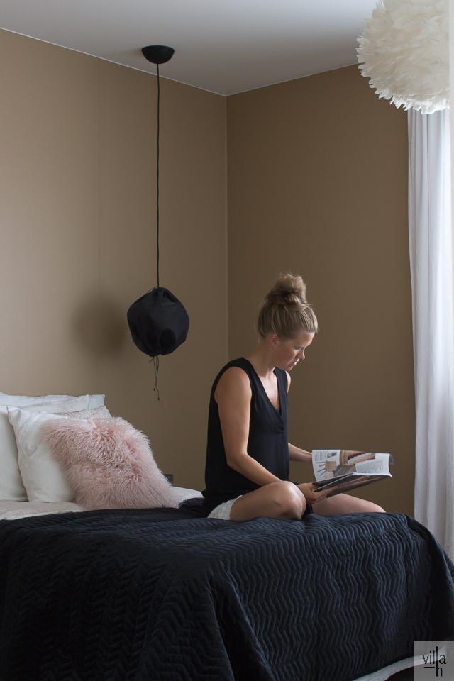 oma tyyli, makuuhuone, interior