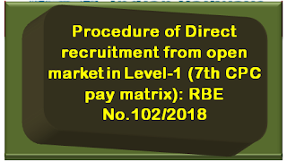 railway-direct-recruitment-from-open-market-in-level-1-7th-cpc-pay-matrix