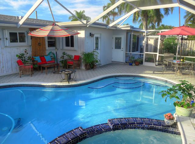 Florida pool house
