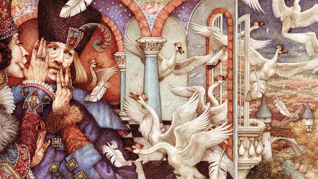 Dzikie Łabędzie, Bajka o dwunastu braciach, bajka o siedmiu krukach, Andersen, Grimm, baśnie, interpretacje baśni, Baśnie na warsztacie, Mateusz Świstak,