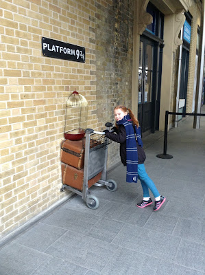 Kings Cross Station, London for Harry Potter fans