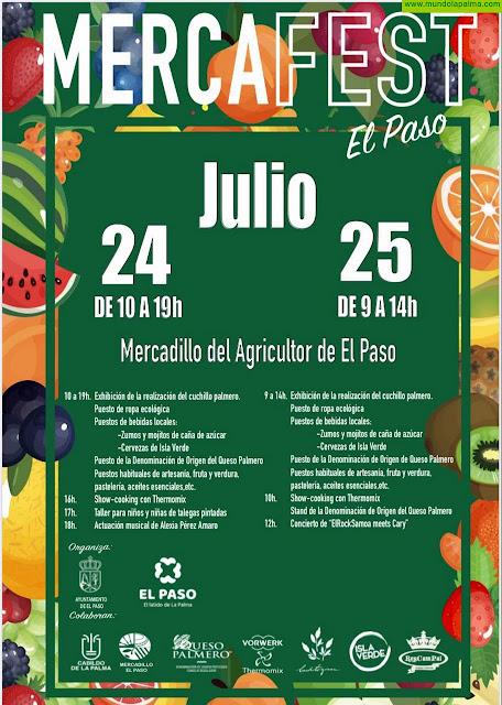 El Mercadillo del Agricultor de El Paso celebra este fin de semana una nueva edición de 'MercaFest'