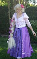 Rapunzel Dress Costume Notes by Kris