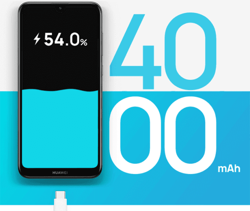 4,000mAh battery