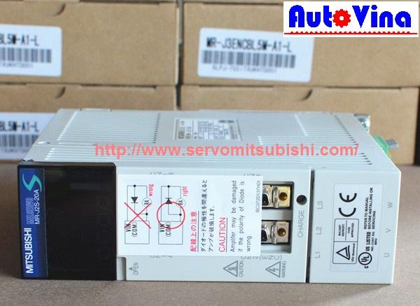 Bán drive Amplifier MelServo Mitsubishi MR-J2S-20A 200W