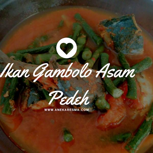 Ikan Gambolo Asam Pedeh