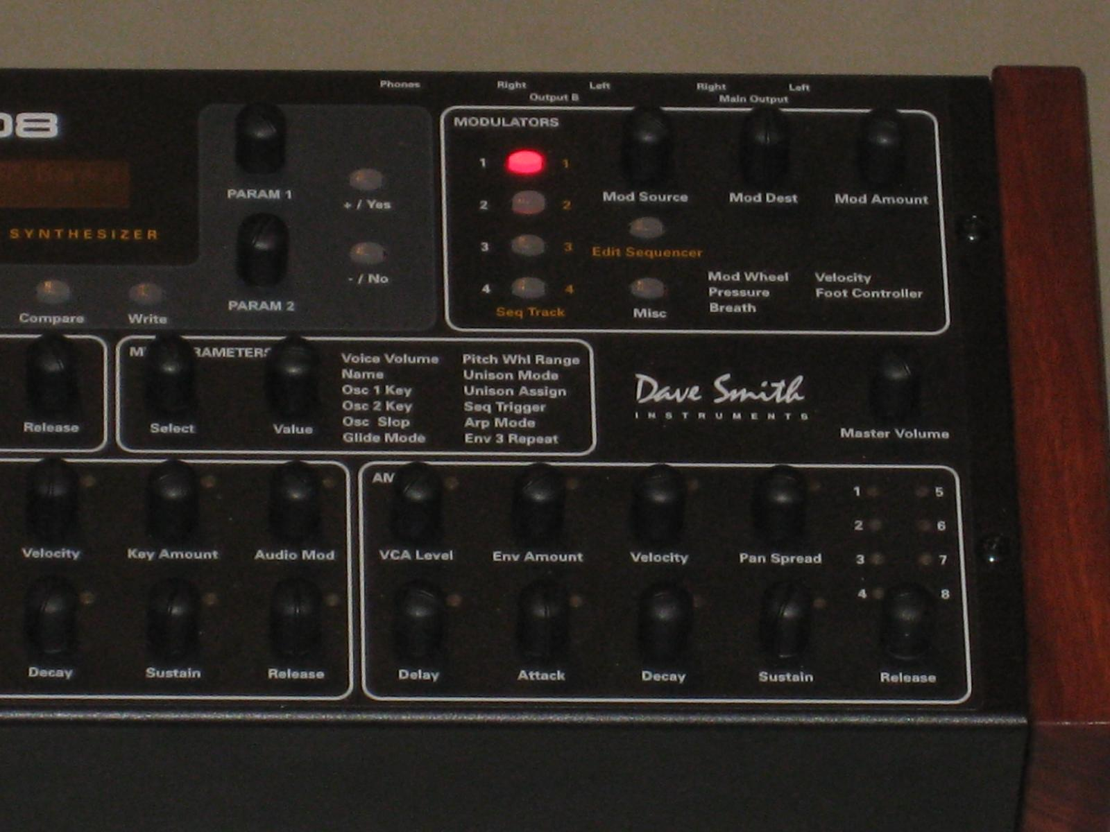 infrequent sound technology dave smith instruments prophet 39 08 synthesizer module. Black Bedroom Furniture Sets. Home Design Ideas