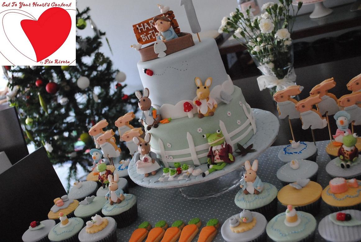 Flourish Heart Cake Topper Designs