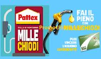 Logo Concorso ''Fai il pieno con Millechiodi'' e vinci 198 buoni carburante da 30€