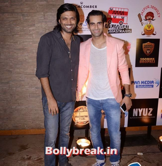 Anand Mishra and Sunny Aroraa, Box Cricket League Success Party - Tv Babes as Guests