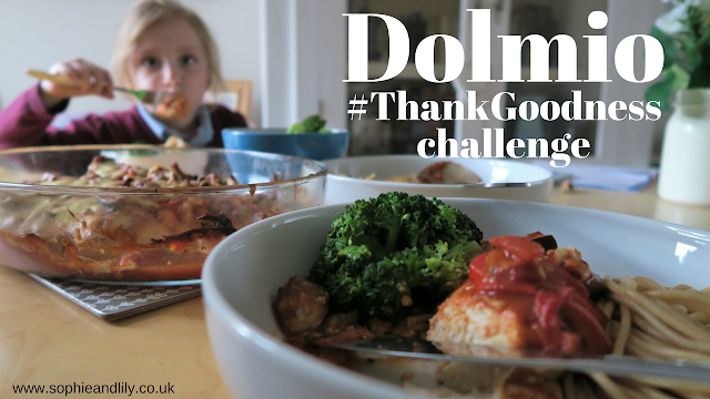 dolmio thank goodness challenge
