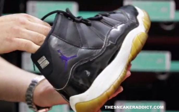 best website 3d38e aefd3 ... Air Jordan 11 Space jam  Concord Sample Shoes he actually Wore On Set  which were Unveiled on Camp james New Episode you can watch HERE, check out  some ...