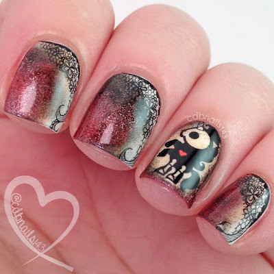 Nail Pop LLC-Skelanimal Decals