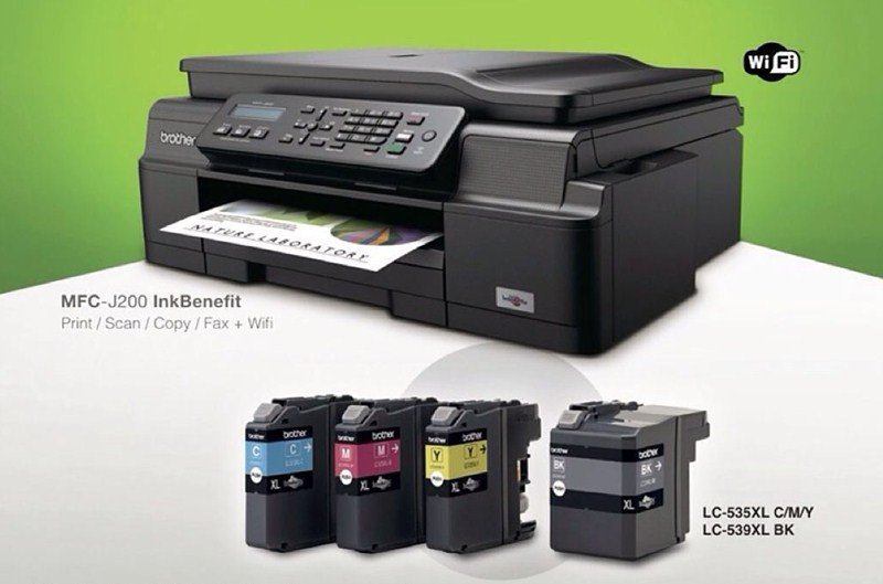 Printer Brother MFC-J200 - IG