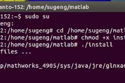 Script dan Cara Instalasi Matlab di Linux Ubuntu Terbaru