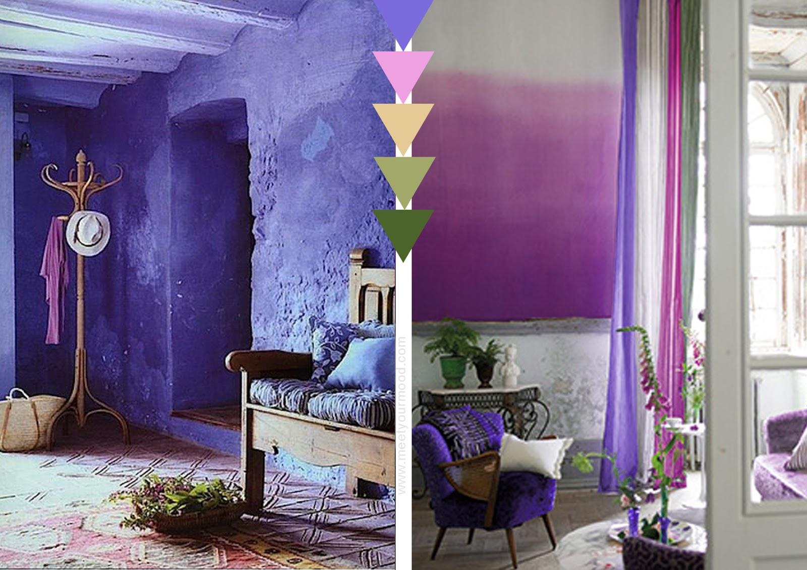 Pareti Interne Color Lavanda : Pareti interne color lavanda il colore nell arredamento qualche