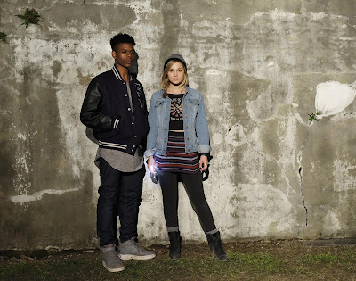 Marvel's Cloak and Dagger (series) Olivia Holt and Aubrey Joseph Image 2