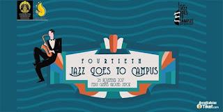 cari tiket jazz goes to campus
