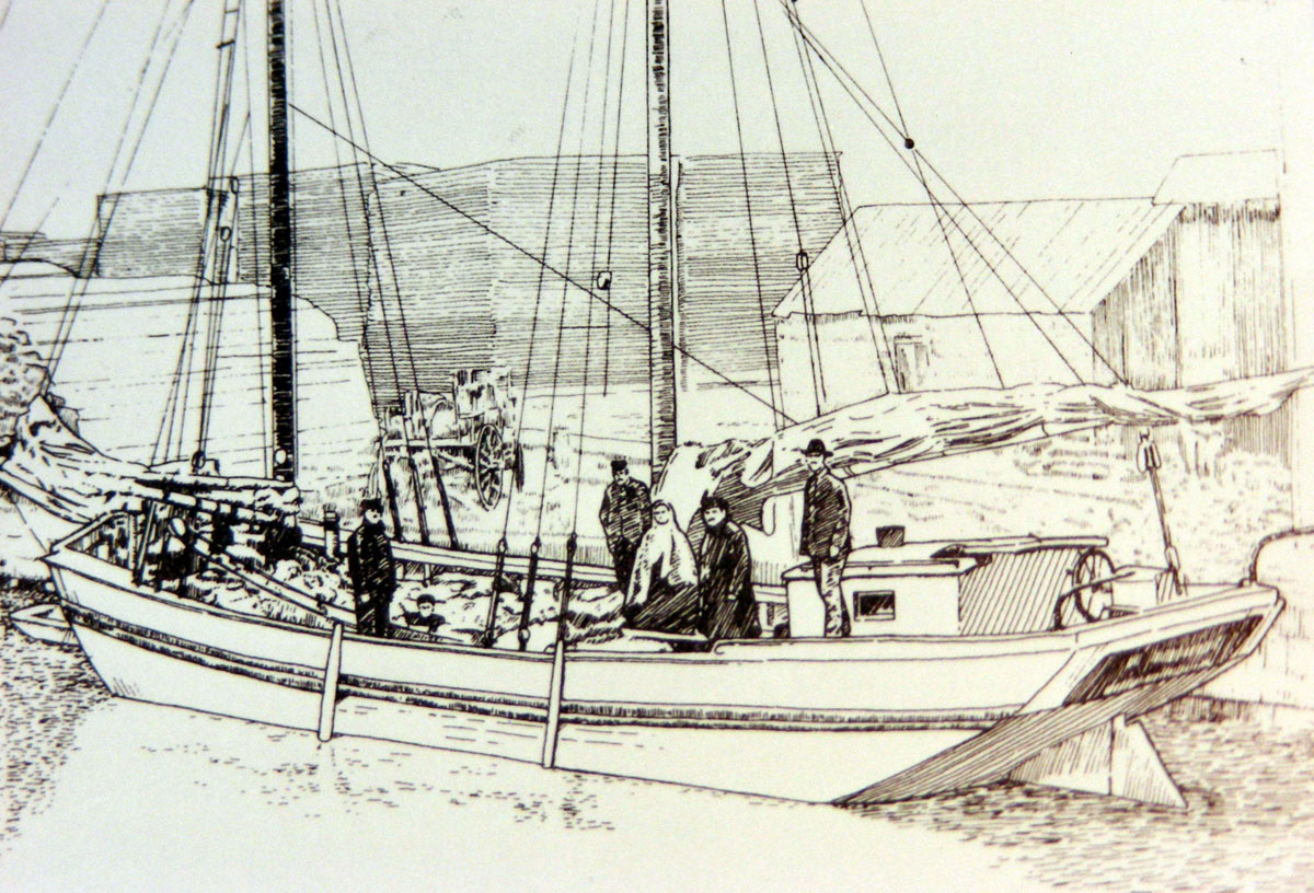 Identify picture of schooner boat design forums for William garden boat designs