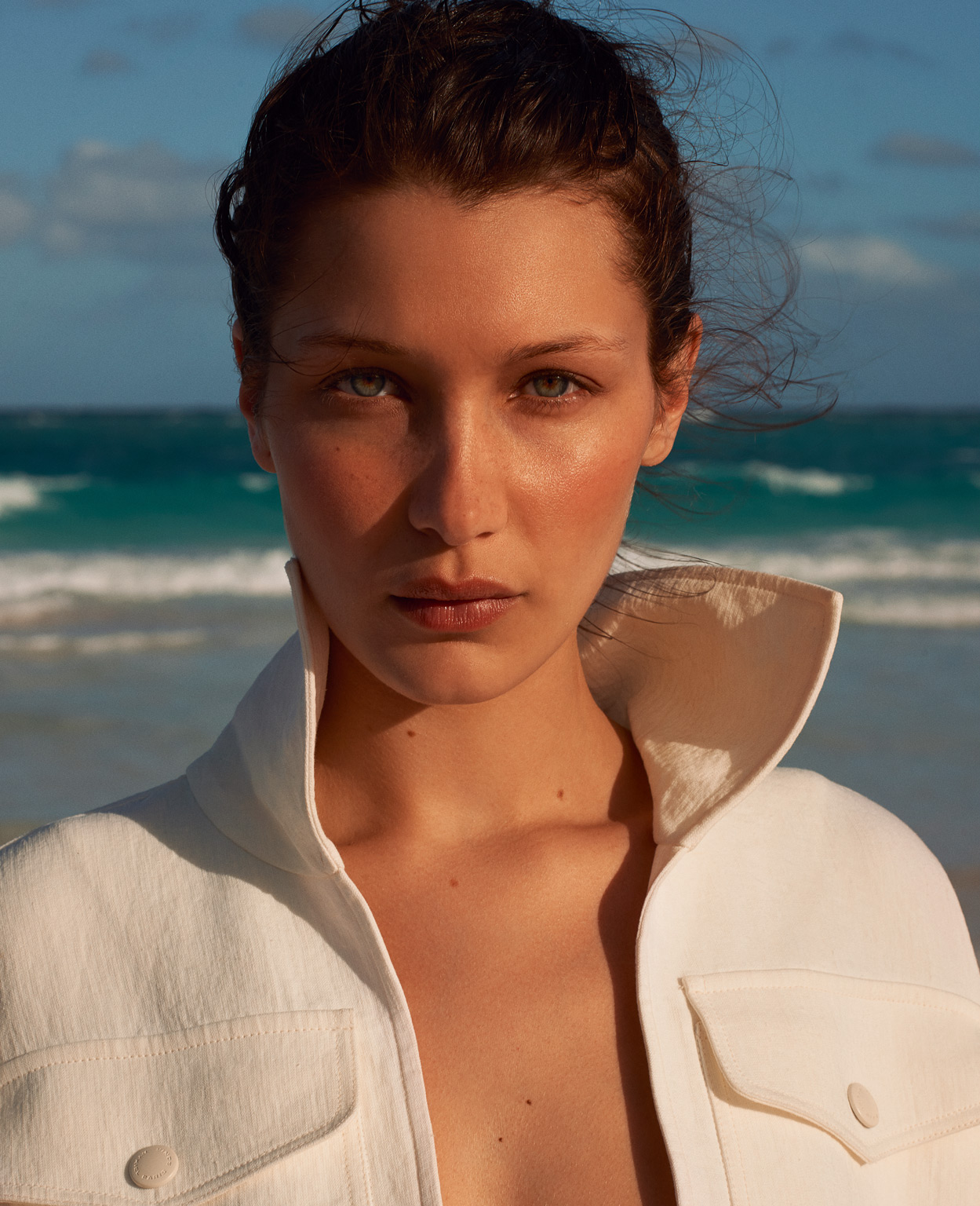 Smile Bella Hadid in Porter Magazine 20 Summer 2017 by Terry