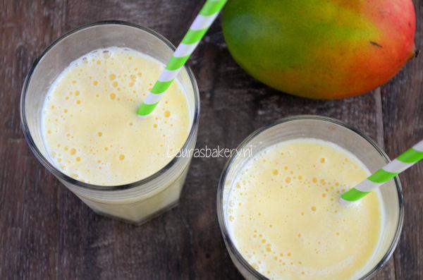 recept bananenmilkshake zonder ijs