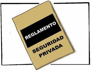 Resultado de imagen de reglamento de seguridad privada