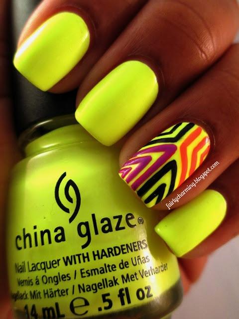 Las mejores ideas de uñas | Combinaciones con color amarillo | Moda ...