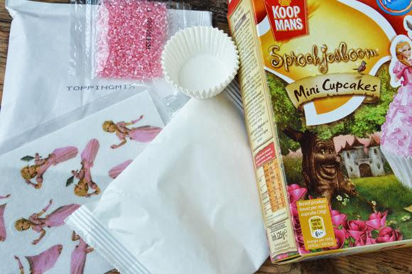 Prinsessen cupcakes maken met Koopmans