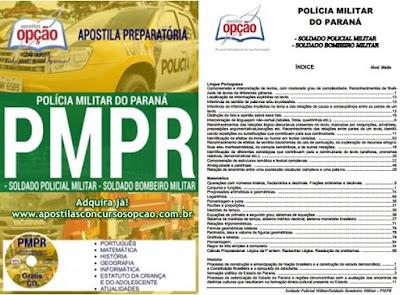 Apostila PMPR CFO 2018: Concurso Público Polícia Militar-PR 2017