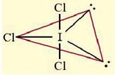bentuk senyawa ICl3