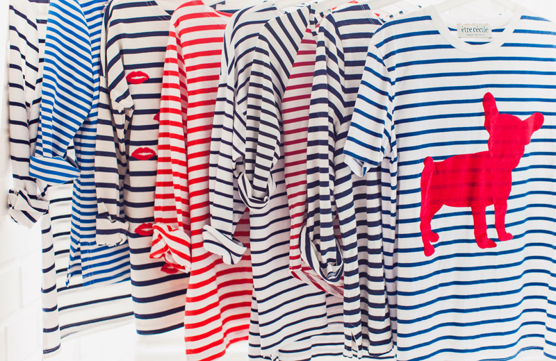 J.Crew stripe top
