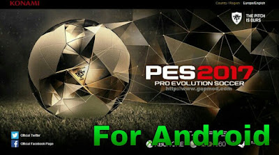 PES 2017 Gold Edition Apk + Data Full Transfer
