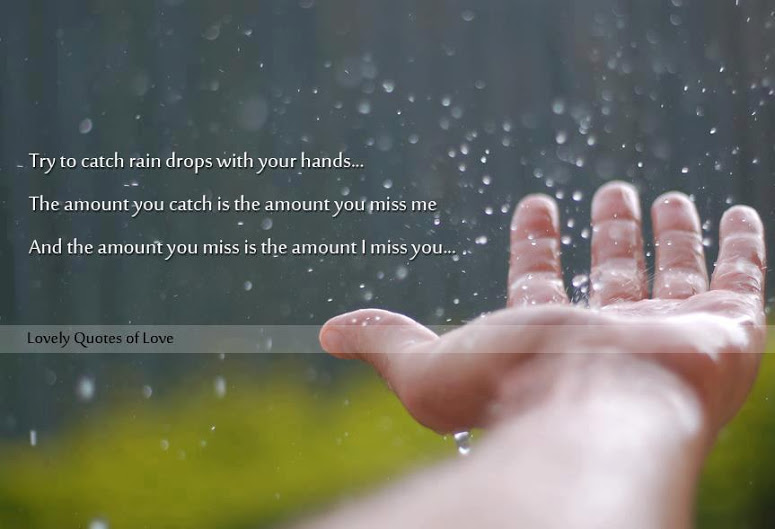 Miss You More Than Quotes: Life And Love Quotes: I Miss You More Than You Miss Me