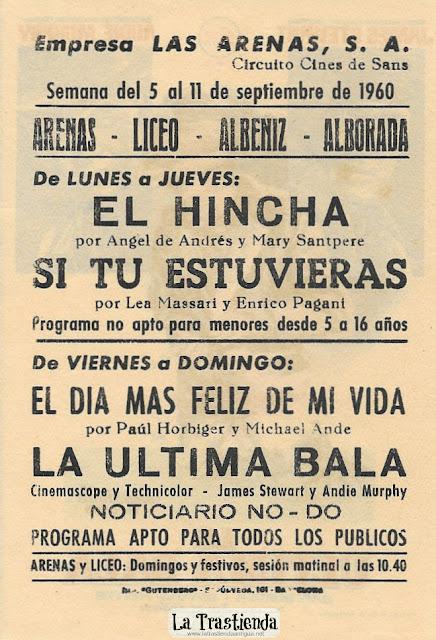 La Ultima Bala - Programa de Cine - James Stewart - Audie Murphy - Dan Duryea