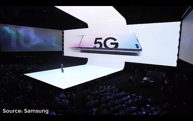 About the stage at Galaxy Unpacked 2019