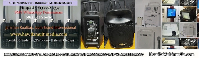 Sewa Clip On Headset Microphone Wireless Sound System Portable Jakarta Selatan