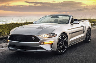 Ford Mustang GT California Special Convertible (2019) Front Side