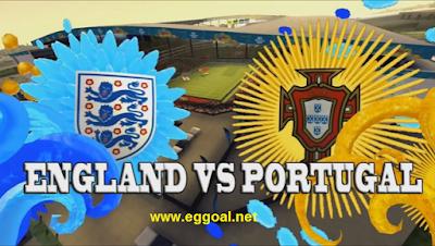 مشاهد مباراة انجلترا والبرتغال بث مباشر الخميس 2-6-2016
