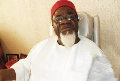 Gov Dickson Hails Ezeife @ 80...Describes Him As A Master Of Progressive Politics