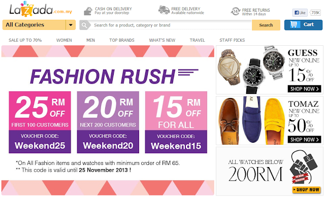 Lazada fashion marketplace
