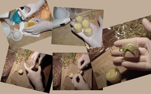 Mazidełko naturalne ręcznie robione Pszczela Dolinka
