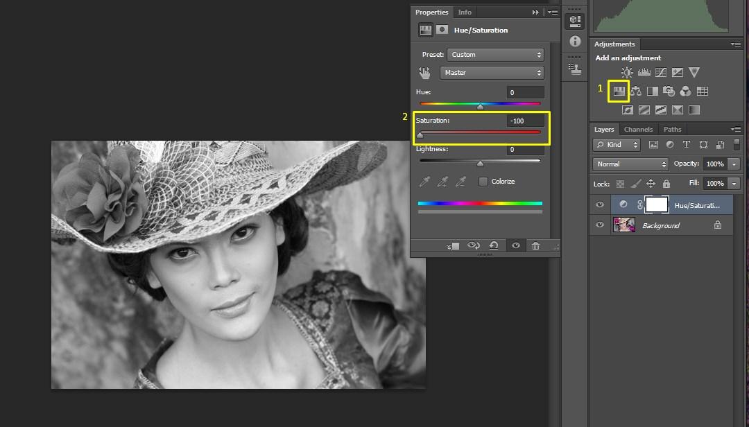 3 Cara Mudah Edit Foto Hitam Putih dengan Photoshop