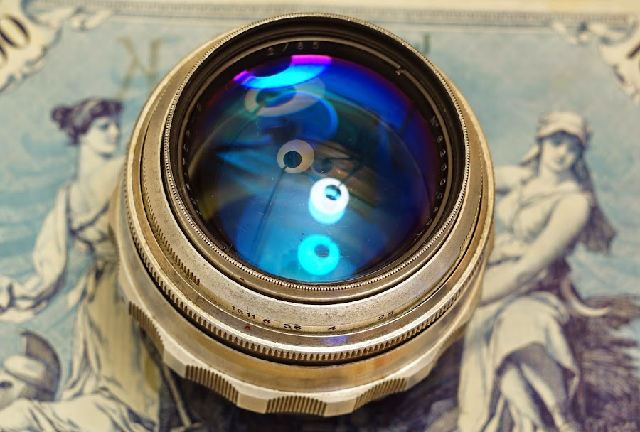 Jupiter-9 Silver 85mm f2 (m39) - m42 ring
