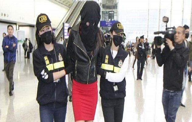 Διώκεται και στην Ελλάδα το μοντέλο που πιάστηκε με κοκαΐνη στο Χονγκ Κονγκ