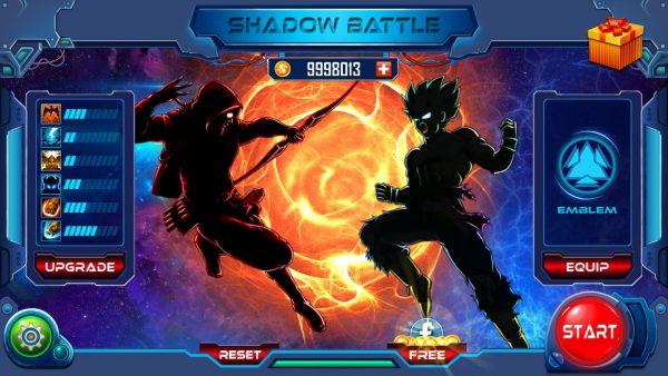 shadow battle apk data mod